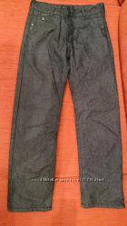 джинсы утепленные на флисе р. 146
