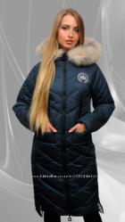 Зимнее пальто, Мех натуральный.