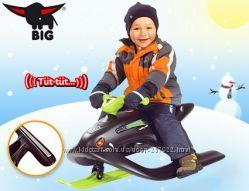 Снегокат BIG-BOBBY-BOB WILD SPIDER для детей от 3 лет. Германия