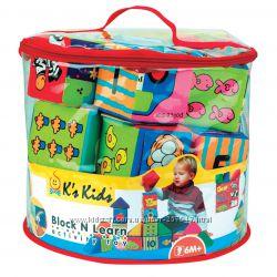 Набор мягких кубиков Ks Kids
