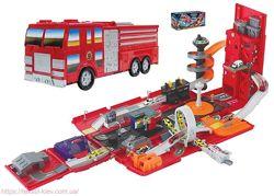 игровой набор &laquoПожарная машина трансформер»