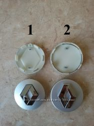Колпачки для литых дисков заглушки Renault Рено
