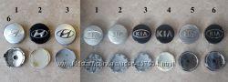 Ступичные колпачки в диски заглушки в диски Hyundai и KIA