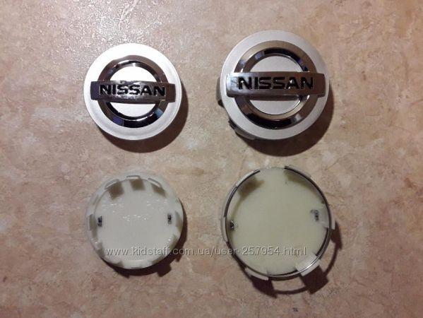 Колпачки для дисков заглушки Nissan