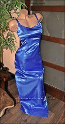 Вечернее платье-сарафан-футляр