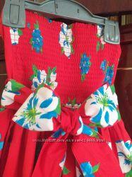 Яркое платье для леди 146-152 рост