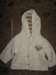 Велюровая куртка на мальчика размер 62