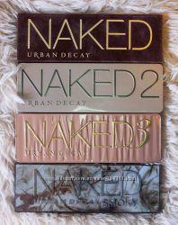 Оригиналы MAC и URBAN DECAY Naked3, Smoky. Тени, консилеры, помады и т. д.