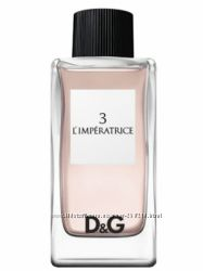 D&G Anthology LImperatrice  3, распив, оригинал
