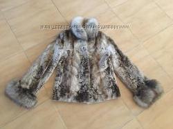 норковый полушубок Saga Furs Royal VICONE MINK