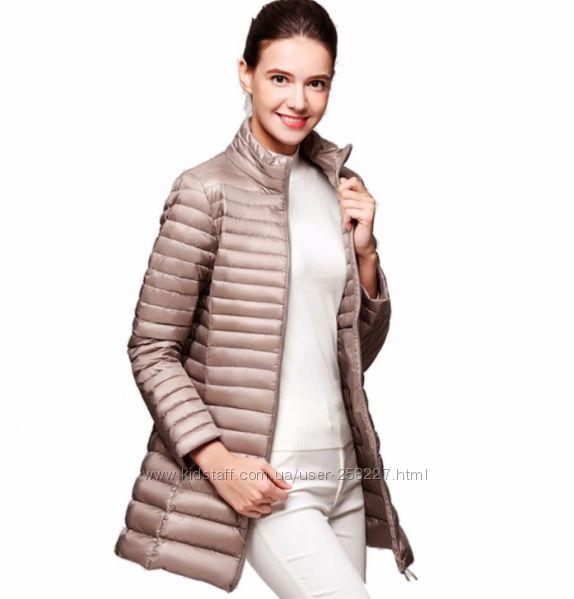 Демисезонная куртка ультра легкий пуховик