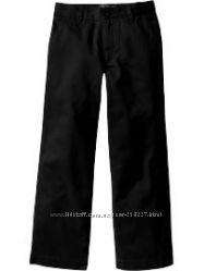 школьные черные брюки 140-146