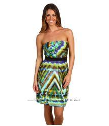 брендовое цветное платье MAX&CLEO