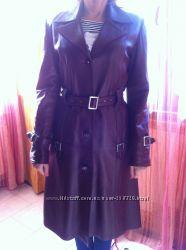 Пальто шкіряне жіноче