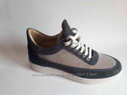 новые крутые кроссовки cotton&silk р 44 45 натур кожа