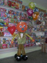 Воздушные шарики, оформление шарами, гелевые шары Киев