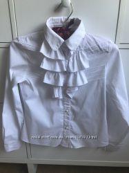 Продам блузку в школу на рост 146 11 лет