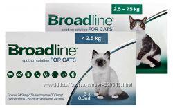 Broadline Spot On Solution For Cats средство от блох и клещей и глистов