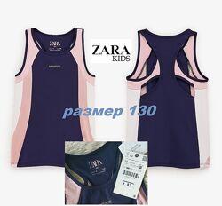 Спортивный топ Zara kids оригинал на рост 130 см