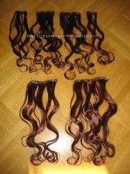 Волосы для наращивания на трессах