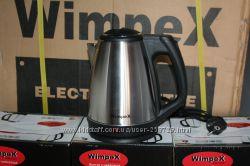 Электрочайник , електрочайник WimpeX Австрия 1. 8 литра, Нержавейка