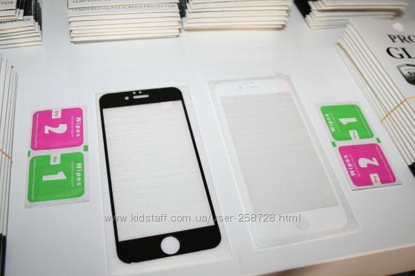 3D защитное стекло на iPhone айфон 6, 6, 7, 7 захисне 3D скло