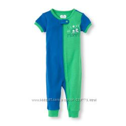 Пижама- слип  CHILDRENS PLACE с коротким рукавом, р.4т новая