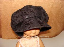 Кепи кепка шапка женская теплая утепленная флис деми зима размер 54 берет