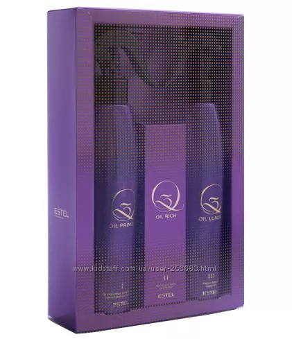 Набор для процедуры экранирования для волос Q3 THERAPY