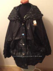 Женскаявесення куртка с утеплителем- БОЛШОЙ размер