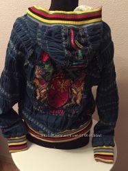 Джинсовая куртка Epica , расшитая бисером