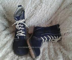 Женские ботинки нат. замша-кожа Осень-зима