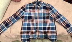 Рубашка мужская mandco  M&co Oxford check long sleeve shirt