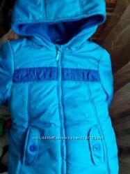 Деми сезонная курточка на девочку, рост 116