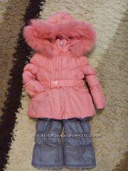 Теплющий зимний костюм Donilo для девочки 86 р.