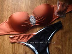 Купальник с Push-up Victorias Secret Лиф 36С 80С Плавки М ОБ 98-105 см