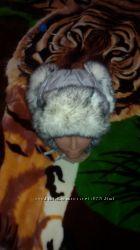 Шапка зимняя с ушками
