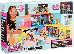 Клубный кукольный дом Лол Lol Surprise Clubhouse Playset with 40 Surprises