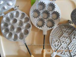 формы для выпечки   орешницы
