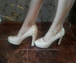 Туфли лакированные, 39 р.