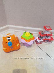Фирменные игрушки Chicco, Fisher Price