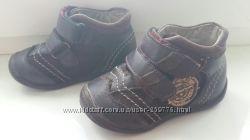 Кожаные ботиночки 19 р.