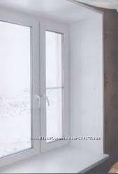 Штукатурка откосов пластиковых окон