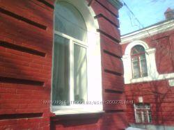 откосы пластиковых окон и дверей, ремонт и реставрация наружных откосов