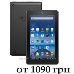 Планшеты Amazon Fire Tablet 7, новые и бу из США. Акция.