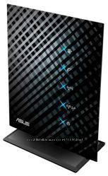 Двухдиапазонный мощный и стильный роутер 2 и 5 Ггц 2x300 Мбитс ASUS RT-N53
