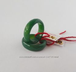 кольцо в огранке из натурального зеленого агата хрустальные мечты