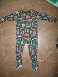 Флисовый человечек-пижама Carters 4Т