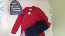 Набор в школу реглан и джинси zara