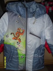 курточки для девочек и мальчиков в наличии